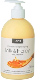 Vedelseep Eva Natura Hypoallergenic Milk & Honey, 500 ml
