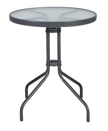 Садовый стол Home4you Bistro Grey, 60 x 60 x 70 см