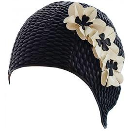 Fashy Bubble Swim Hat Black