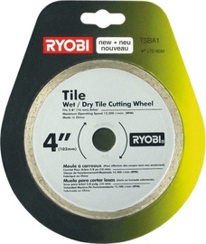 Ryobi TSBA1 Wet/Dry Diamond Tile Cutting Wheel 4''