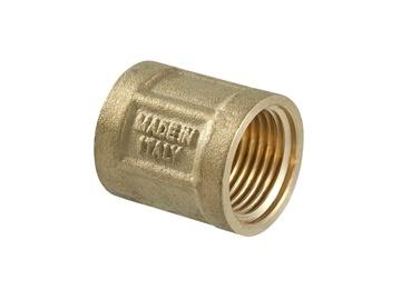 """TDM Brass 600.60/220 Connector V/V 1/2"""""""