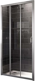 Huppe X1 2-Section Shower Doors 900x1900mm Silver/Transparent