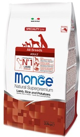 Monge Speciality Line Adult Lamb/Rice/Potatoes 2.5kg