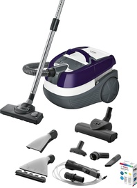 Bosch AquaWash & Clean Serie 4 BWD41740 Vacuum Cleaner White/Violet