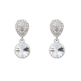 Vincento Earrings With Zirconium Crystal CE-2123
