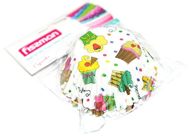 Fissman Cupcake Liners 50Pcs 6621