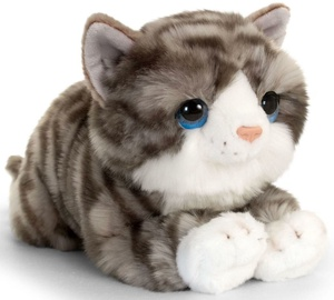 Pehme mänguasi Keel Toys Cuddle Kitten Gray, 32 cm
