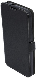 Telone Super Slim Shine Book Case For LG Stylus 2 K520D Black