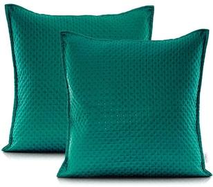 AmeliaHome Carmen Pillowcase Alpine Green 45x45 2pcs