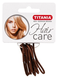 Titania Hair Bands 9pcs Brown