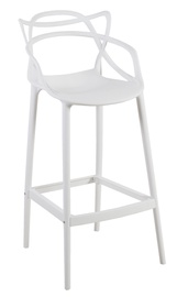 Home4you Butterfly Bar Stool White