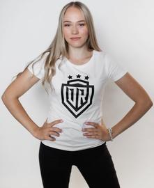 Dinamo Rīga Women T-Shirt White/Black XXL