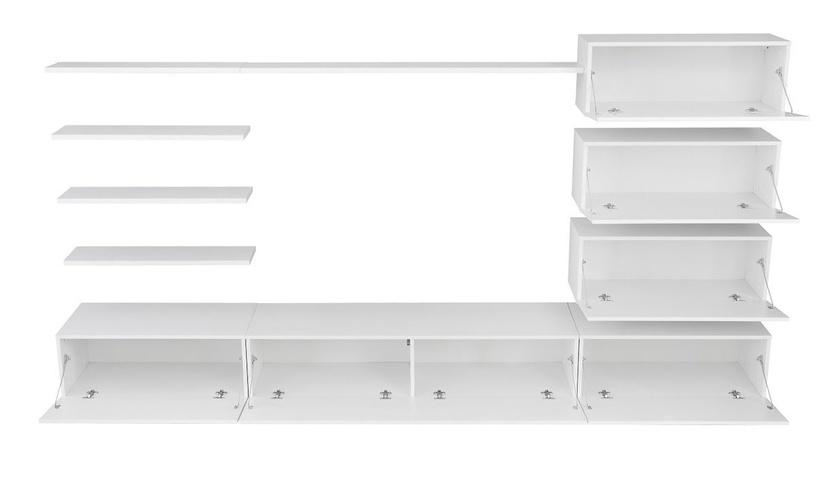 ASM Italy Living Room Wall Unit Set White