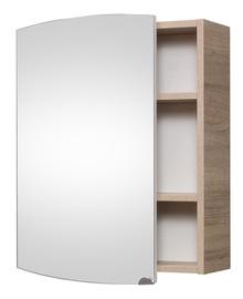 Шкаф для ванной с зеркалом SV54 SONOMA (RIVA)