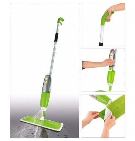 Niveda Healthy Spray Mop Green
