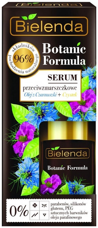 Bielenda Botanic Formula Cumin Oil + Cistus Anti Wrinkle Face Serum 15ml