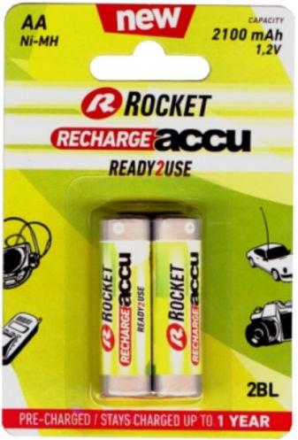 Rocket Recharge Accu HR03 AA 2pcs
