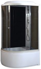Gotland Massage Shower Left 1200x800x2150mm