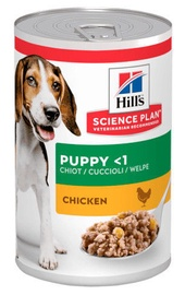 Hill's Science Plan Puppy Wet Food w/ Chicken 370g