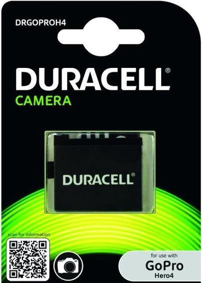 Duracell Premium Analog Battery For GoPro 4 Black/Silver