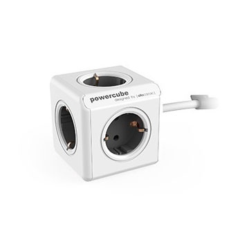 Allocacoc Powercube Extended 1.5m 5 Outlets