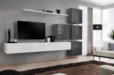 ASM Switch IX Wall Unit White/Graphite