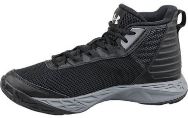 Under Armour Basketball Shoes BGS Jet 2018 020948-002 Black 36.5