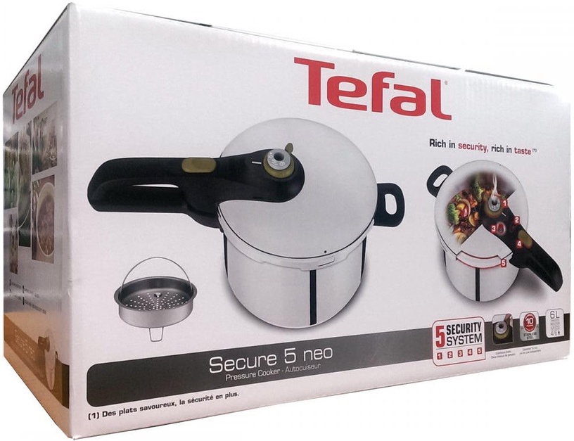 Tefal Secure 5 Neo Pressure Cooker 6l P2530741
