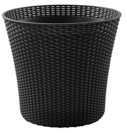 Curver Conic Planter 54x54x48.7cm Anthracite