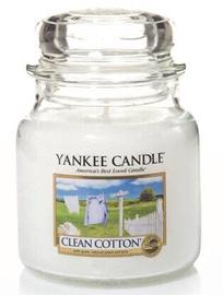 Yankee Candle Classic Medium Jar Clean Cotton 411g
