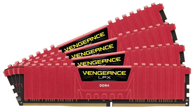 Corsair Vengeance LPX 16GB 2666MHz DDR4 CL16 KIT OF 4 CMK16GX4M4A2666C16R