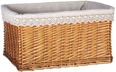 Home4you Basket Max 1 58x42xH31cm Lace