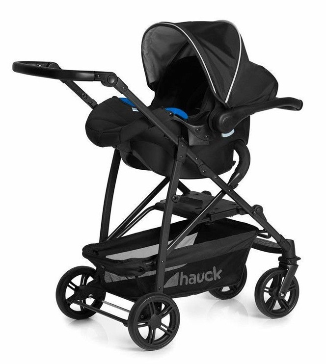 Hauck Rapid 4 Plus Trioset Black Silver