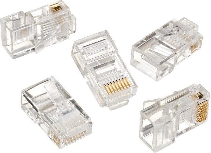 Gembird 8P8C Modular Plug CAT5 UTP 10pcs. LC-8P8C-001/10