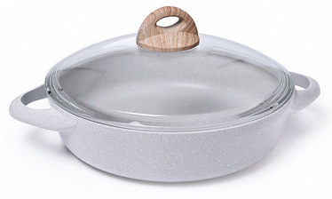 Fissman Borneo Saute Pan With Glass Lid 28x7.2cm 3.6l