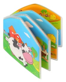 Babyono Wild Animals Bath Book Farm Animals