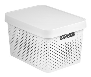 Curver Infinity Perforated Box 17l White