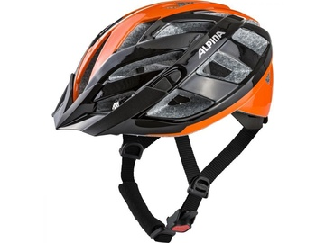 Alpina Sports Panoma 2.0 Helmet Black/Orange 52-57cm