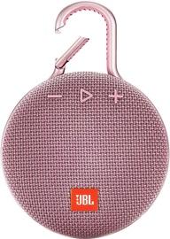 Juhtmevaba kõlar JBL Clip 3 Dusty Pink, 3 W