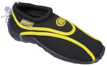 Aqua Speed Beach 09 Black Yellow 44