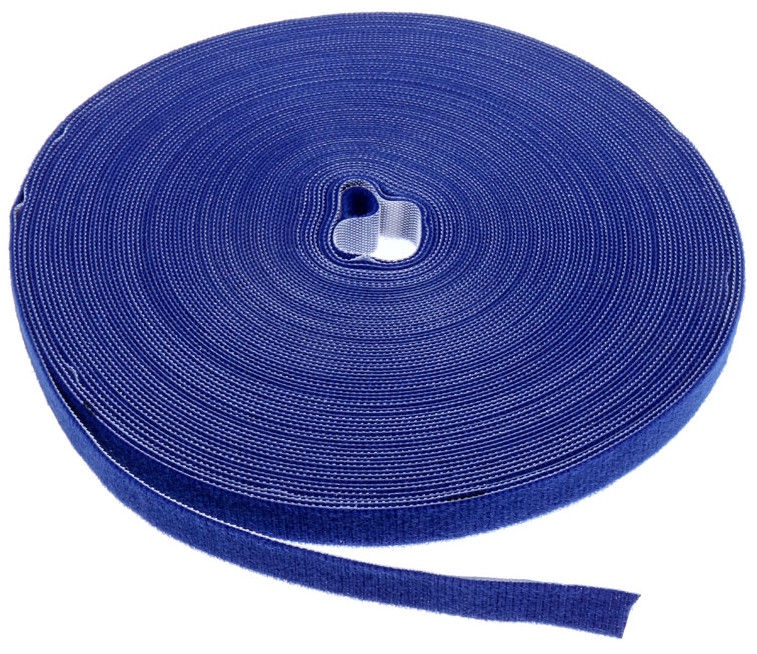 Label The Cable PRO Roll Dual Velcro Roll 25m Blue