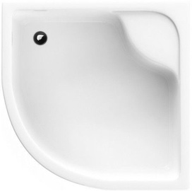 Schaedler Standard L Shower Tray 90x28/41x90 White