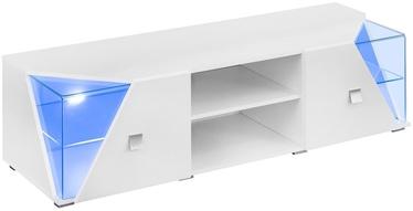 ТВ стол ASM RTV Edge White Gloss, 1500x500x480 мм