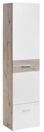 ASM Gustavo Wardrobe Type A Gloss White/Wellington Oak