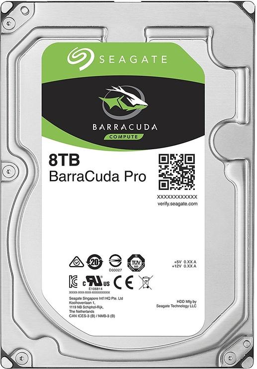 Seagate BarraCuda Pro 8TB 7200RPM SATAIII 256MB ST8000DM0004
