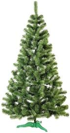 Kunstlik jõulupuu DecoKing Lea Green, 220 cm, koos alusega