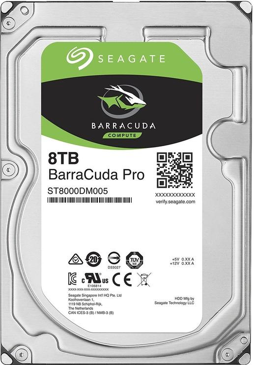 Seagate BarraCuda Pro 8TB 7200RPM SATAIII 256MB ST8000DM005