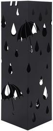 Подставка для зонтов Songmics Rain, черный, 155x155x490 мм