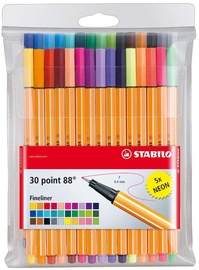 Stabilo Point 88 Fineliners 30pcs