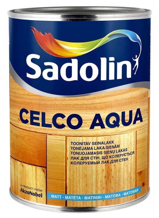 Seinalakk Sadolin Celco Aqua, matt 1L